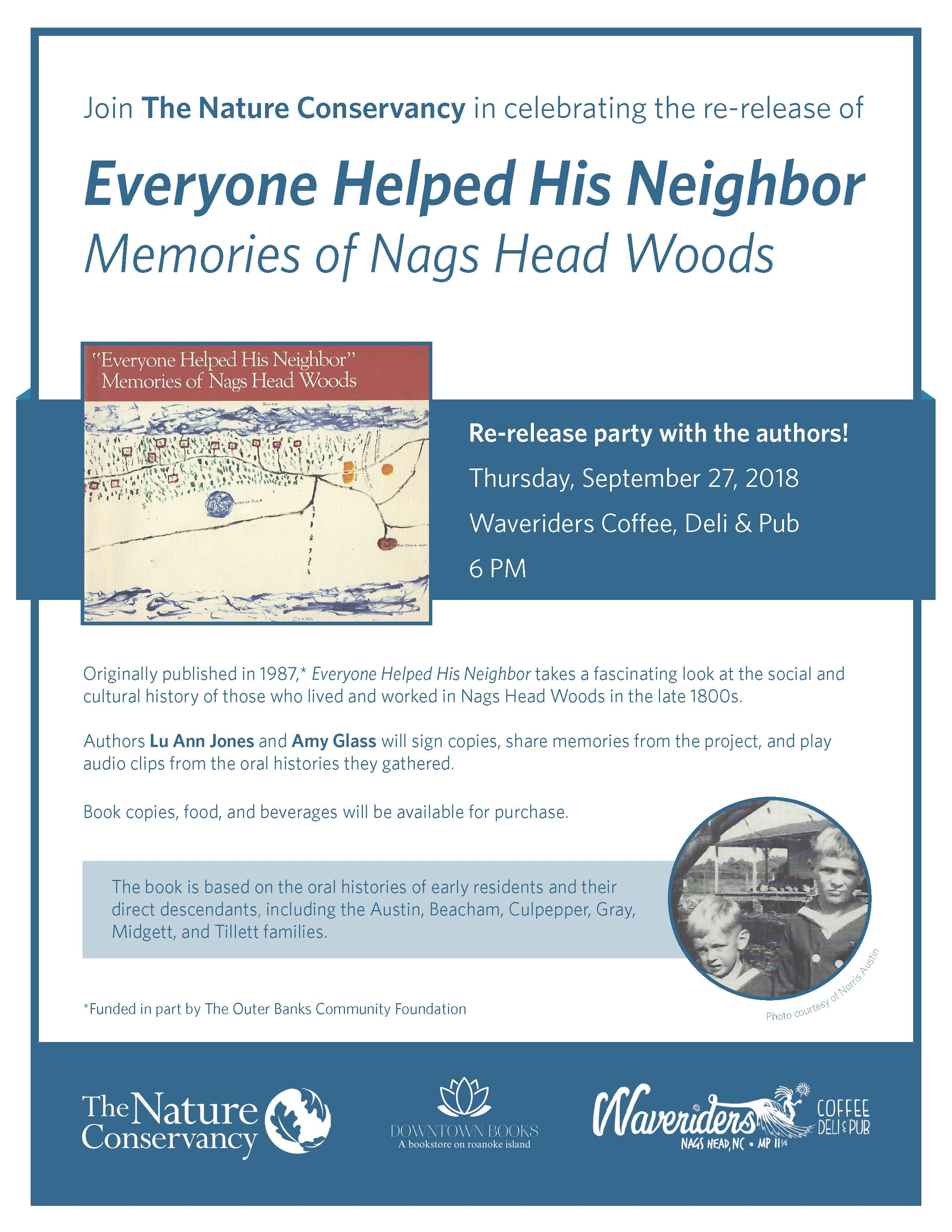 9.27.2018 Everyone Helped His Neighbor Book Signing