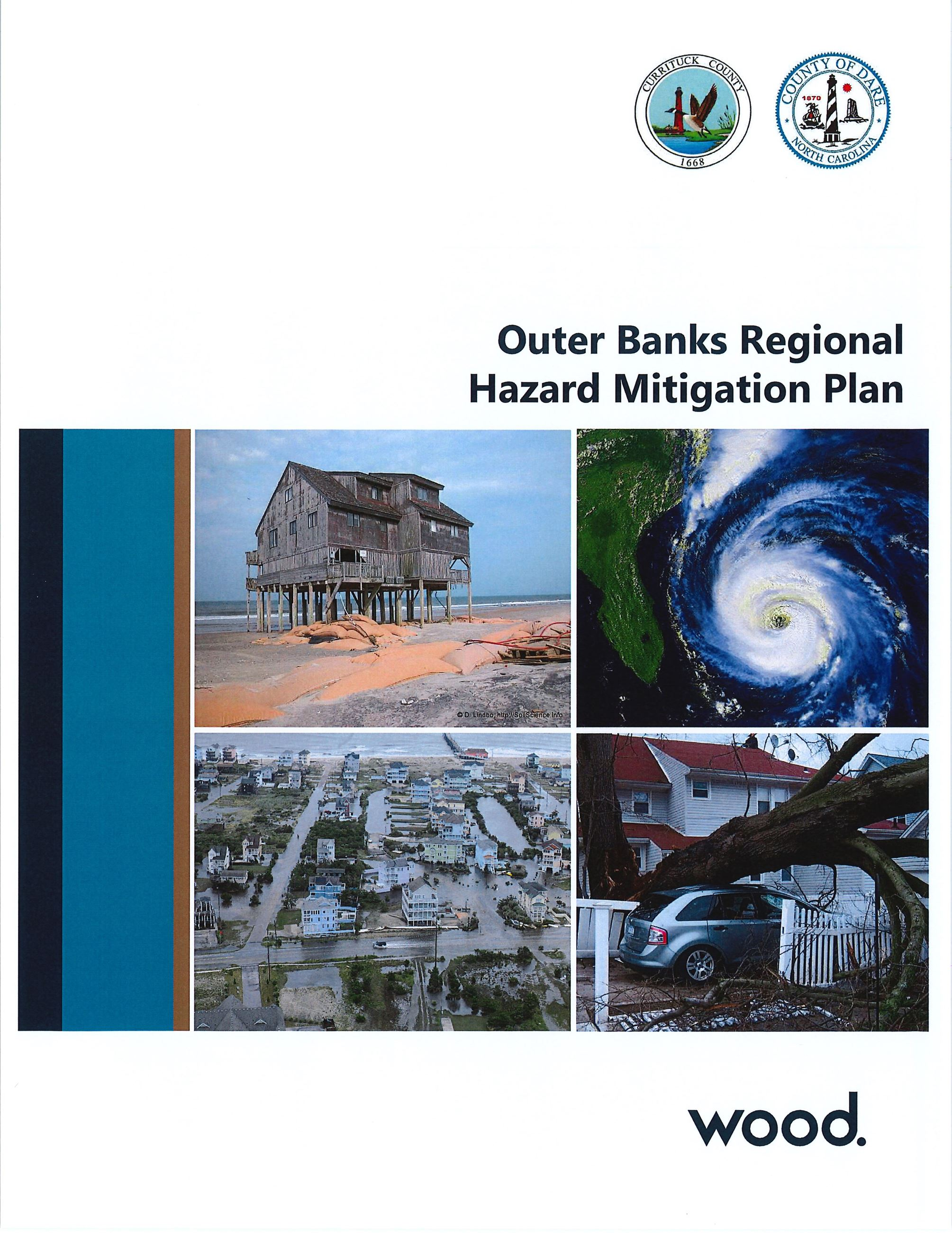Outer Banks Regional Hazard Mitigation Plan cover page