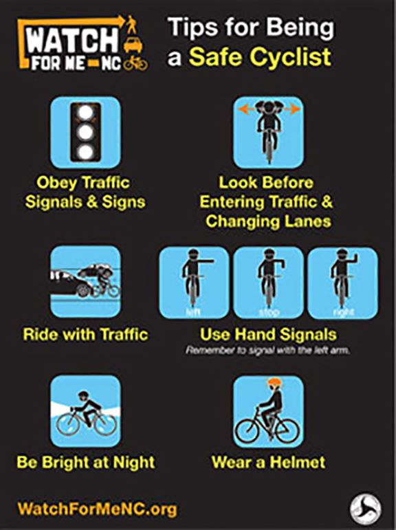 Tips for Being a Safe Cyclist