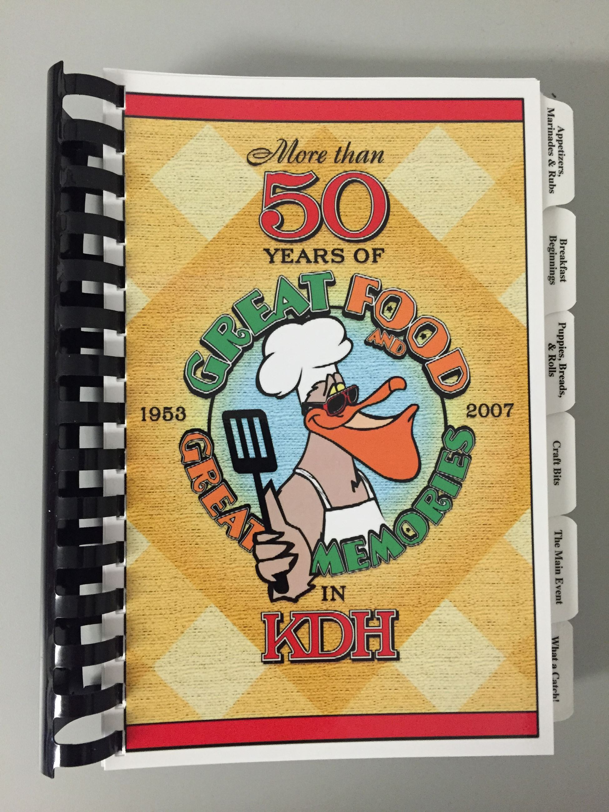 50th Anniversary Cookbook