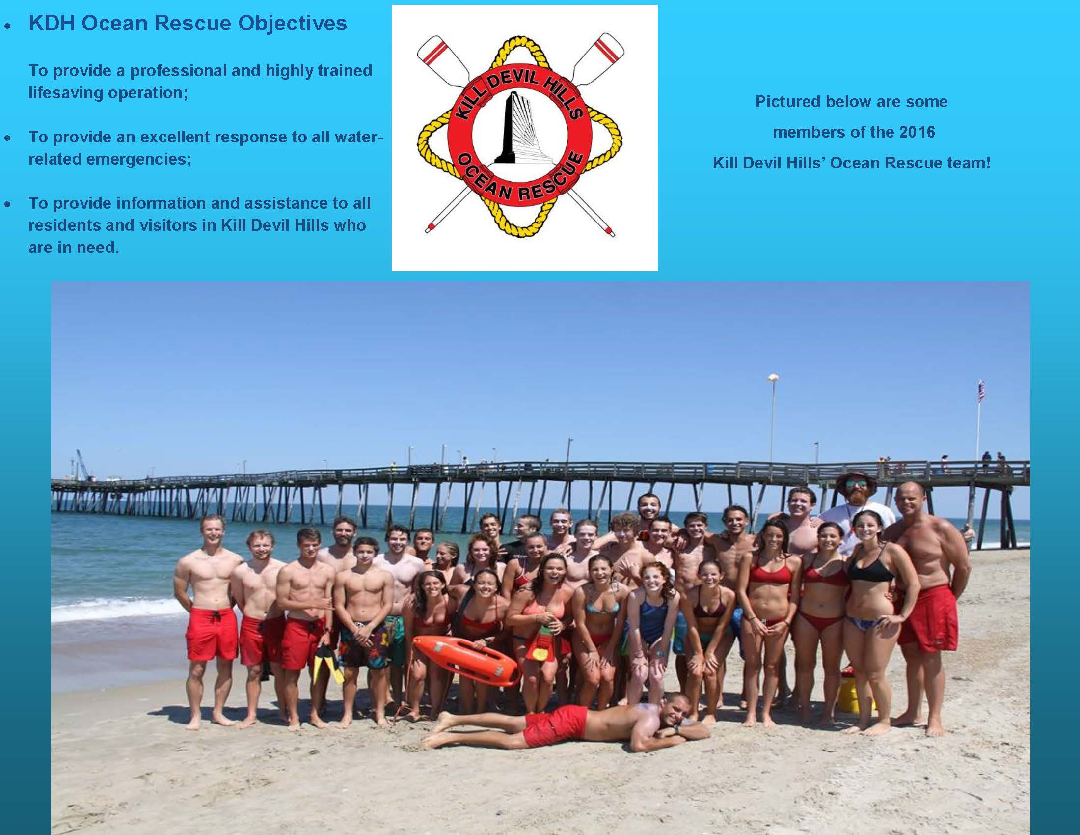 Kill Devil Hills Ocean Rescue 2016