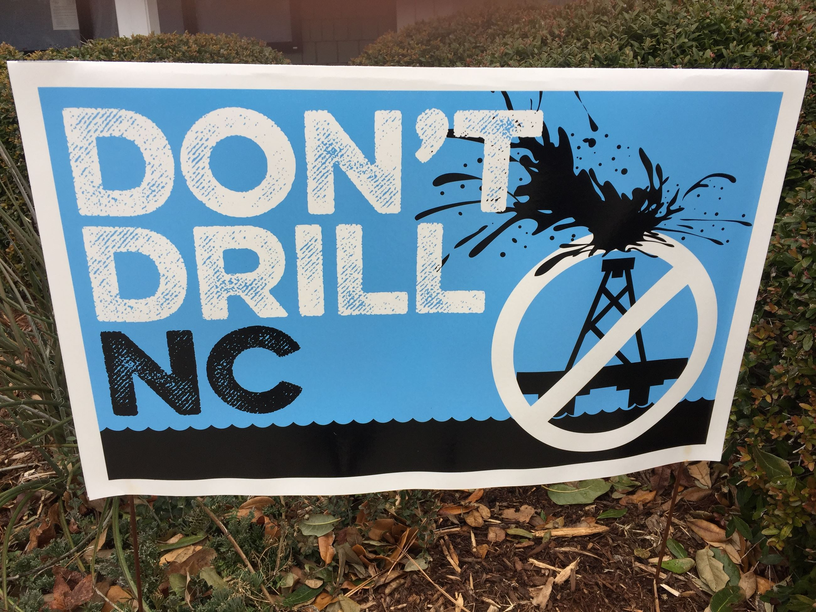 Dont Drill Sign
