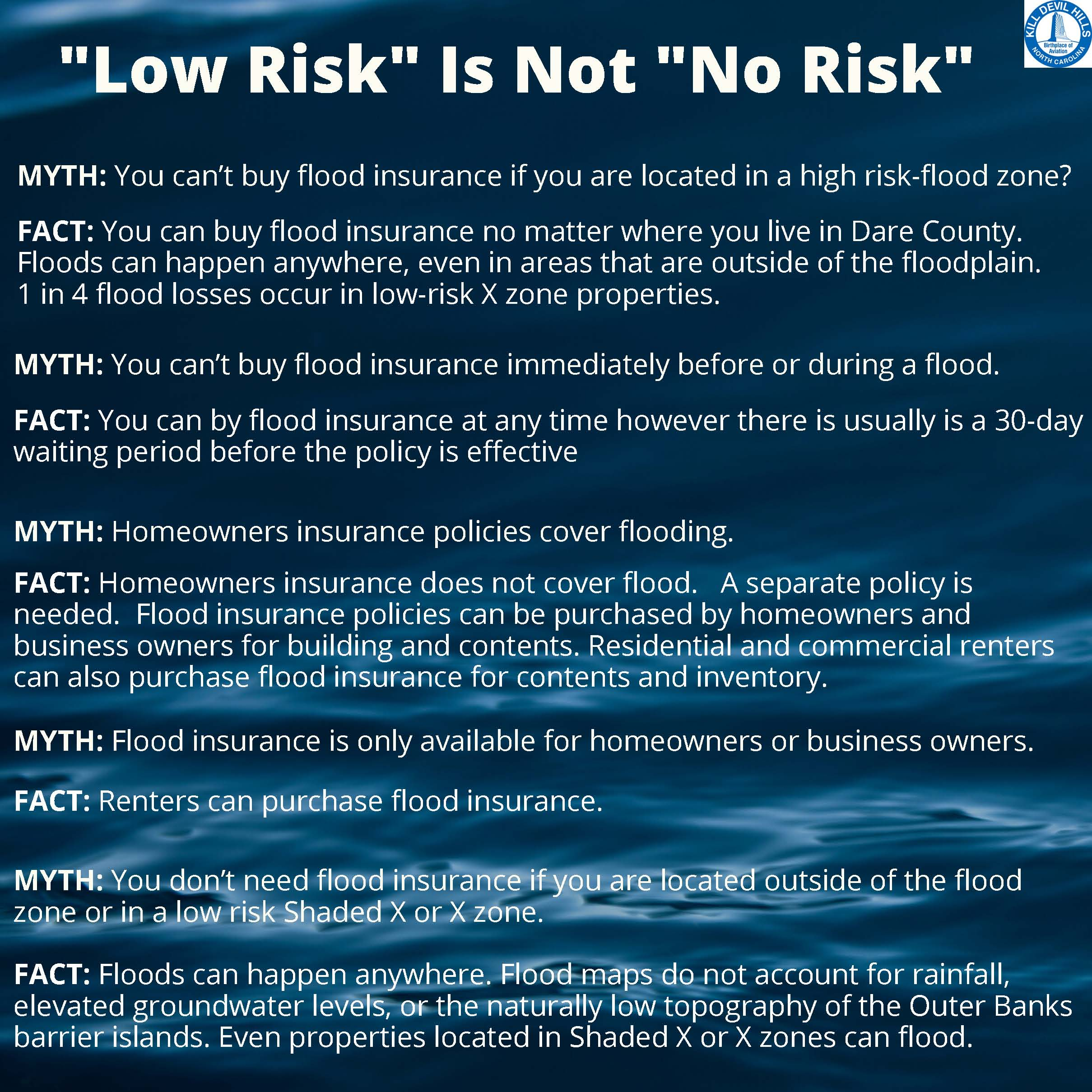 Low Risk Is Not No Risk- Myth vs. Fact